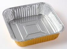 Placa de la hoja del alimento Fotos de archivo
