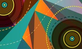 Placa de la música ilustración del vector