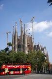 Placa de la Sagrada familia Stock Image