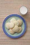 Placa de las galletas de azúcar Fotos de archivo