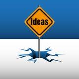 Placa de las ideas Fotos de archivo