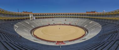 Placa de los toros, Madrid, Spanien arkivfoton