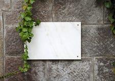 Placa de mármol foto de archivo libre de regalías