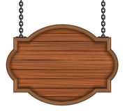 Placa de madeira Fotos de Stock