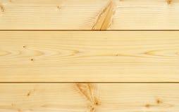 Placa de madeira com algum Knotholes Foto de Stock Royalty Free