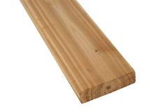 Placa de madeira da madeira serrada Imagem de Stock Royalty Free