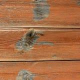 Placa de madeira da prancha, fundo de madeira da praia do vintage - prancha de madeira resistida velha pintada na cor marrom imagem de stock royalty free