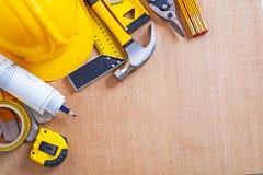 Placa de madeira de carvalho com variação da construção Fotos de Stock Royalty Free