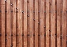 Placa de madeira do fundo de Brown, close up Textura Imagens de Stock