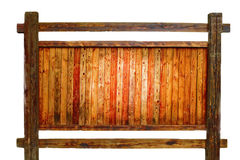 Placa de madeira em branco Imagens de Stock Royalty Free