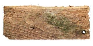 Placa de madeira gastada velha Fotografia de Stock