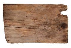 Placa de madeira idosa Fotos de Stock Royalty Free
