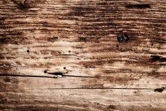 Placa de madeira muito idosa Imagens de Stock