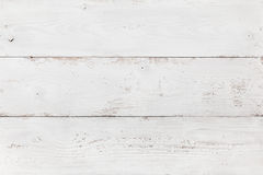 Placa de madeira pintada branca Fotos de Stock