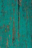 Placa de madeira pintada idosa Imagens de Stock