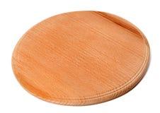 Placa de madeira redonda da cozinha Fotografia de Stock