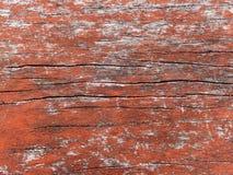 Placa de madeira velha pintada Foto de Stock