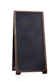 Placa de madeira velha vazia do menu do pub Fotos de Stock