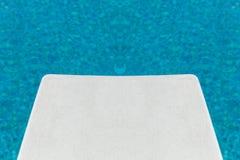 Placa de mergulho Imagem de Stock