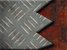 Placa de metal Ilustración del Vector
