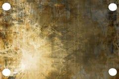 Placa de metal aplicada con brocha libre illustration