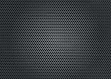 Placa de metal com furos redondos Imagem de Stock