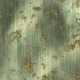 Placa de metal com uma oxidação Fotografia de Stock Royalty Free