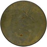 Placa de metal del fondo del Grunge Fotografía de archivo