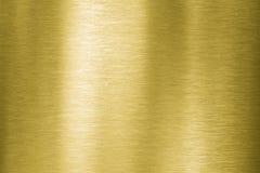 Placa de metal del oro foto de archivo