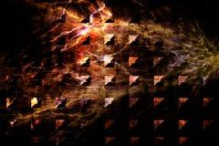 Placa de metal do Grunge Fotografia de Stock