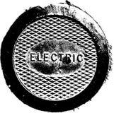 Placa de metal elétrica ilustração royalty free