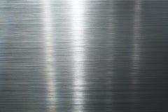 Placa de metal escovada Imagens de Stock