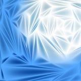 Placa de metal lisa do fundo abstrato azul como Foto de Stock