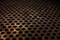 Placa de metal oxidada Imagens de Stock Royalty Free