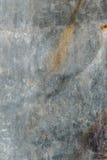 Placa de metal oxidada Imagens de Stock