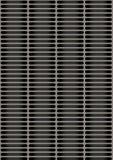 Placa de metal perforada artificial foto de archivo