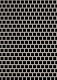Placa de metal perforada artificial foto de archivo libre de regalías