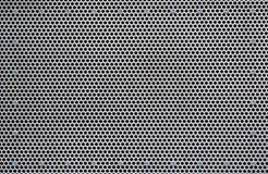 Placa de metal perfurada Imagem de Stock Royalty Free