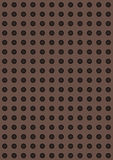 Placa de metal perfurada artificial Imagens de Stock