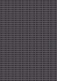 Placa de metal perfurada artificial Fotografia de Stock