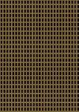 Placa de metal perfurada artificial Imagens de Stock Royalty Free