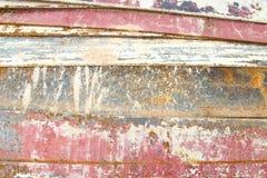 Placa de metal riscada foto de stock