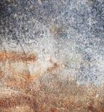 Placa de metal suja, oxidada Foto de Stock Royalty Free