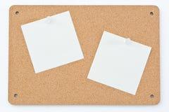 Placa de observação com notas do borne Imagens de Stock Royalty Free