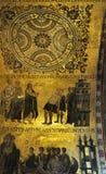 Placa de oro adornada Fotografía de archivo libre de regalías