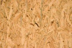Placa de OSB, material de construção Fotos de Stock Royalty Free
