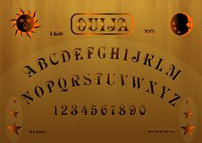 Placa de Ouija Fotos de Stock Royalty Free