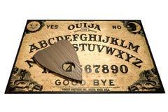 Placa de Ouija isolada no fundo branco ilustração stock