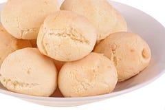 Placa de pan de yuca, el pan del queso de Ecuadoruan foto de archivo