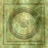 Placa de pedra ilustração royalty free